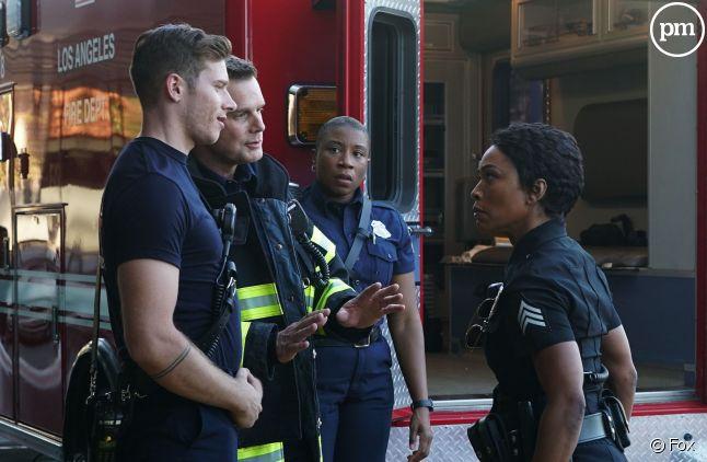 """""""9-1-1"""", la série de Ryan Murphy, est un succès d'audience pour la Fox"""