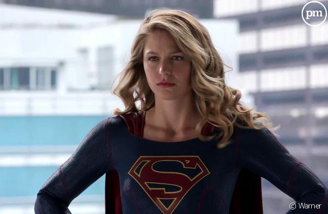 "Melissa Benoist est ""Supergirl"""