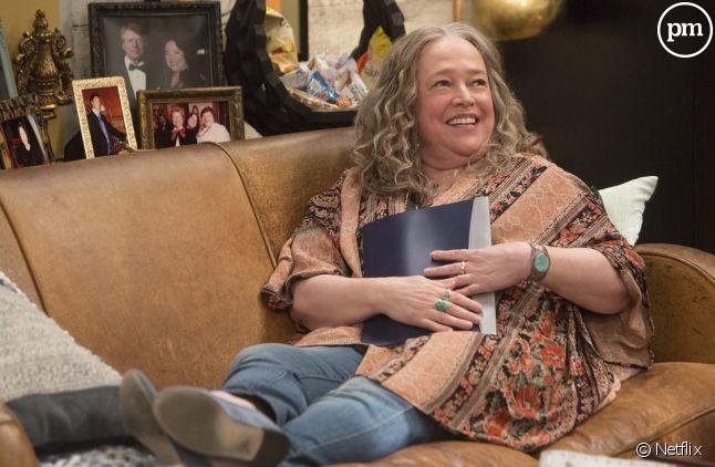 "Kathy Bates star de ""Disjointed"""