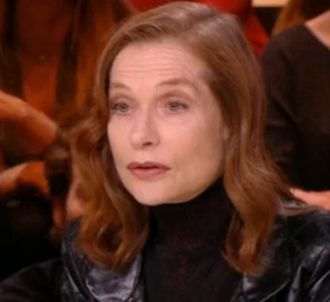 Isabelle Huppert face à Yann Barthès jeudi soir dans...