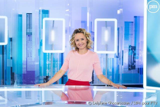 Caroline roux actu photos et biographie puremedias - Presentatrice c dans l air ...