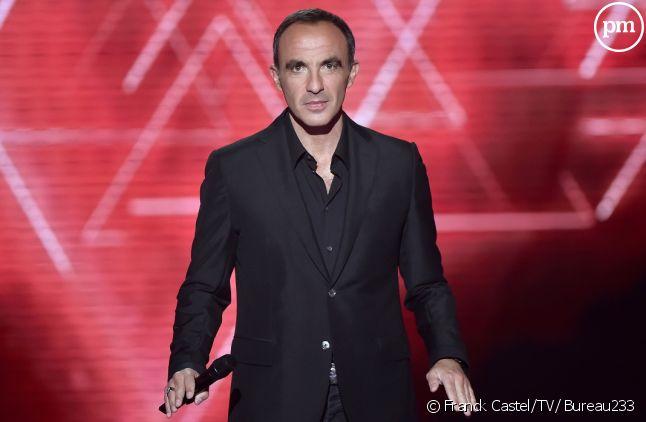 "Nikos Aliagas présente ""The Voice"" sur TF1"