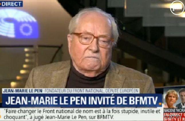 Jean-Marie Le Pen sur BFMTV le 12 mars 2018