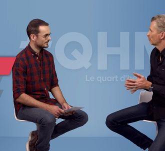 Denis Brogniart invité de #QHM