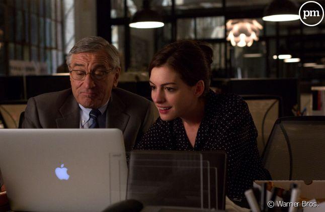 """Robert De Niro et Anne Hathaway dans """"Le Nouveau stagiaire"""""""