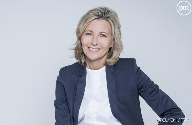 Claire Chazal au casting de la collection de France 3