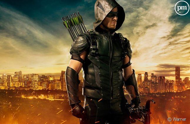 """Stephen Amell dans """"Arrow"""""""
