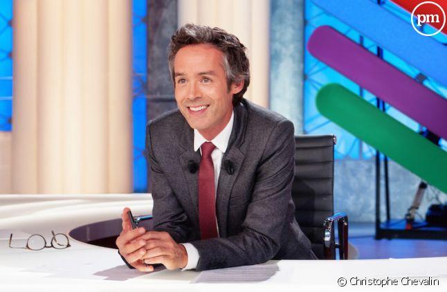 """Yann Barthès dans """"Quotidien"""", sur TMC"""
