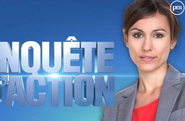 """Marie-Ange Casalta présente """"Enquête d'action"""" sur W9"""