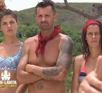 Tiffany, Pascal et Clémence dans 'Koh-Lanta : Le combat...