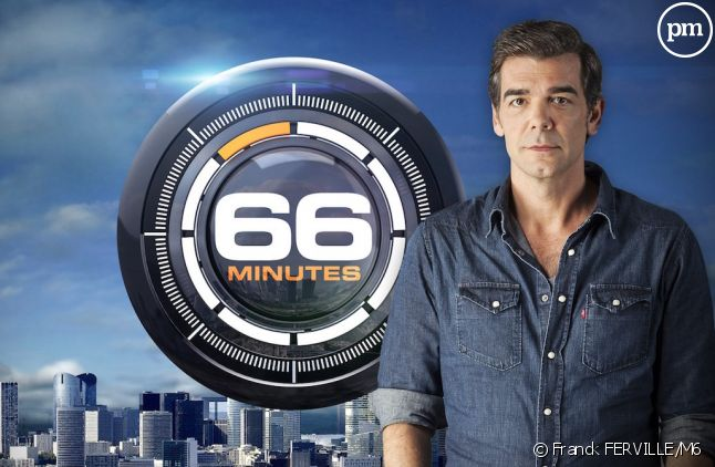 """<span>Xavier De Moulins, présentateur de """"66 minutes"""" </span>"""
