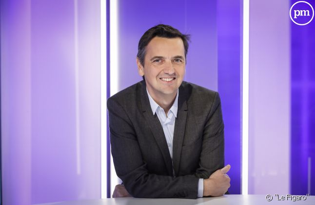 """Bertrand Gié, directeur délégué pôle News du """"Figaro""""."""