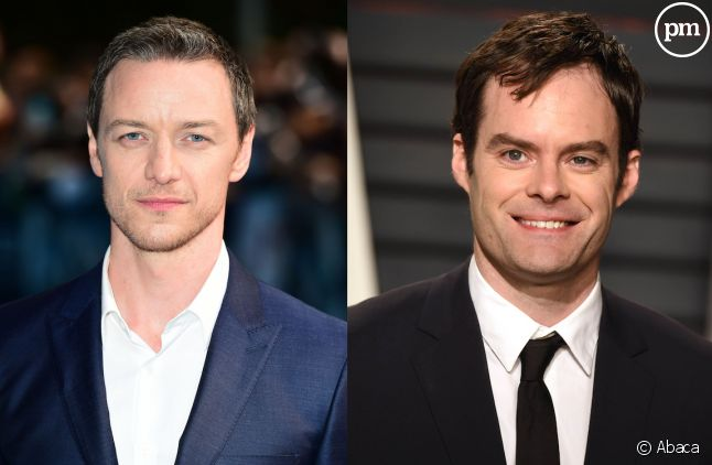 James McAvoy et Bill Hader