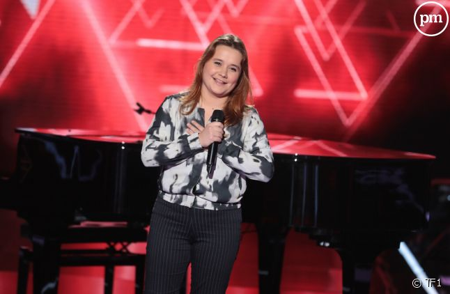 "Betty Patural, candidate de ""The Voice"""