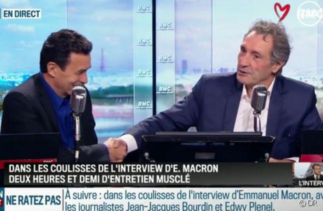 Edwy Plenel et Jean-Jacques Bourdin sur RMC ce matin