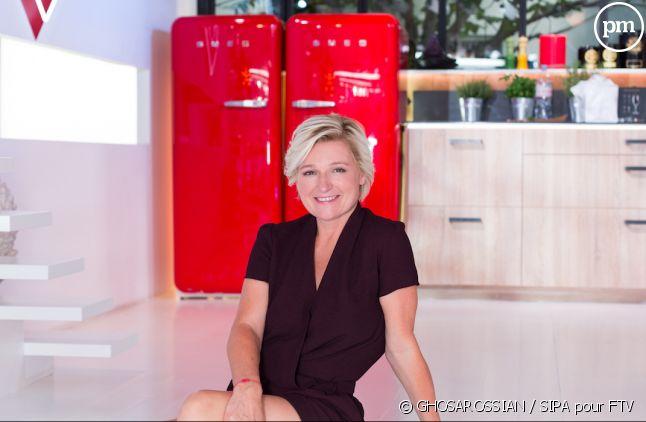 """Anne-Elisabeth Lemoine anime """"C à vous"""" du lundi au vendredi sur France 5"""