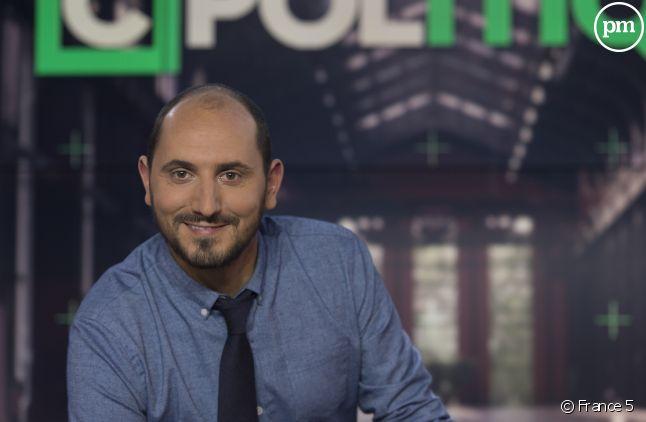 """Karim Rissouli présente un nouveau numéro de """"C Politique""""."""