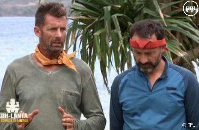 """Pascal et Javier dans """"Koh-Lanta : Le Combat des héros"""""""