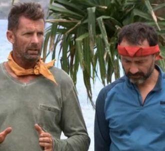 Pascal et Javier dans 'Koh-Lanta : Le Combat des héros'