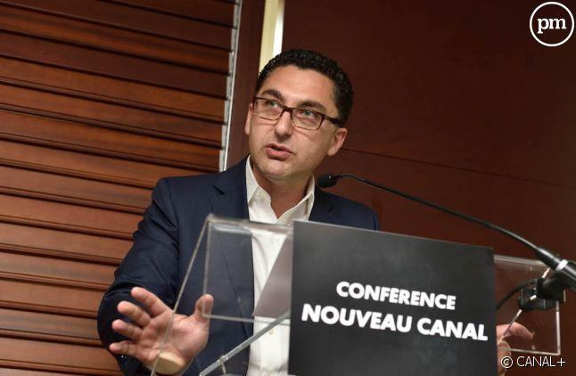 Maxime Saada, le président du directoire de Canal+