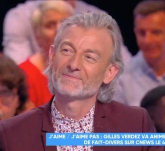 Gilles Verdez dans 'Touche pas à mon poste'.