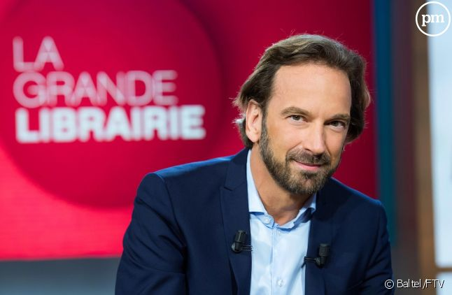 """François Busnel présente """"La Grande librairie"""""""