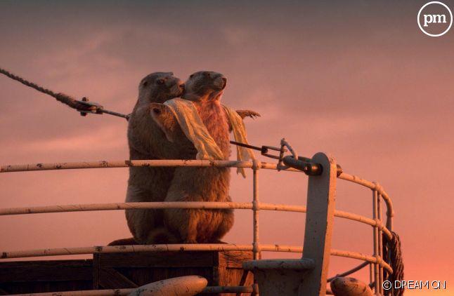 """Les marmottes rejouent """"Titanic"""""""