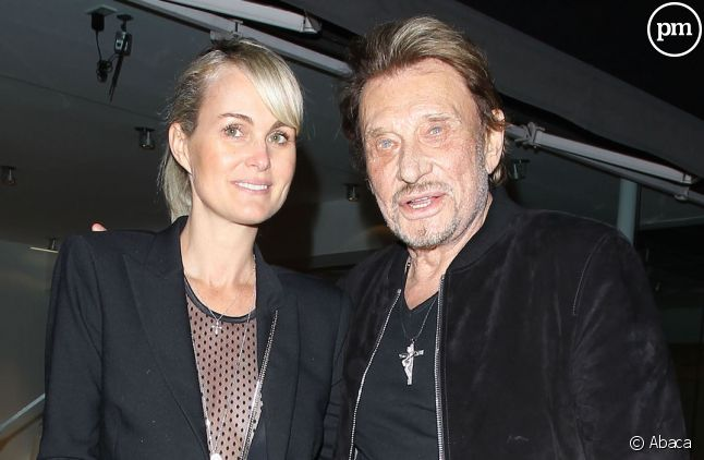 Laetitia et Johnny Hallyday