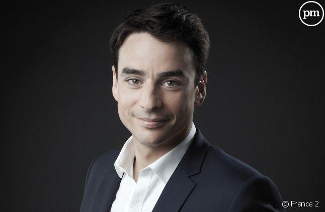 """Julian Bugier présentera le """"20 Heures"""" de France 2 cet été."""