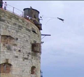 Patrick Cohen dans 'Fort Boyard' sur France 2