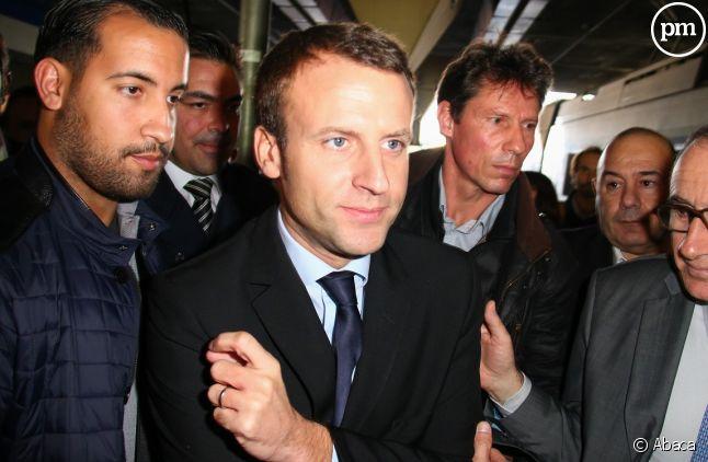 Emmanuel Macron très critique sur le traitement par la presse de l'affaire Benalla