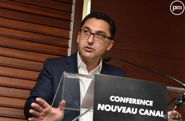 Maxime Saada président du directoire de Canal+