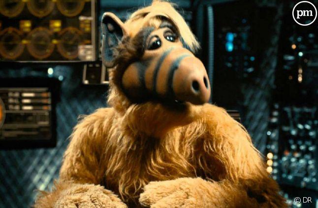 """La série """"Alf"""" a été diffusée quatre saisons durant sur NBC"""