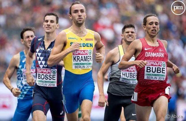 Pierre-Ambroise Bosse a décroché hier la médaille de bronze aux 800 mètres des championnats européens sportifs.