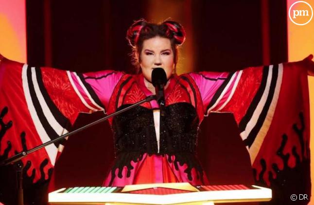 La chanteuse israëlienne Netta, vainqueur de l'édition 2018 de l'Eurovision