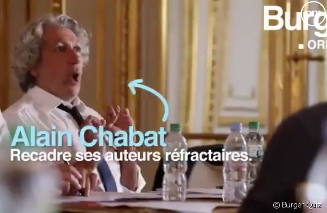 Alain Chabat imite Emmanuel Macron pour le retour de l'émission — Burger Quiz