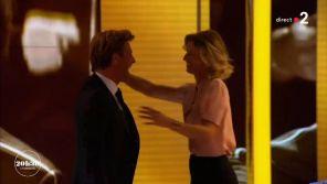 France 2 : Quand Laurent Delahousse et Alexandra Lamy dansent sur le plateau du 20 Heures
