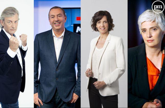 Gilles Verdez, Jean-Marc Morandini, Nathalie Renoux, Frédérique Lantieri