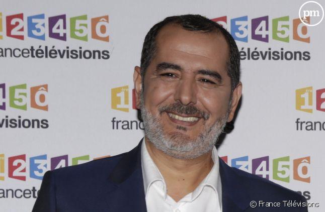 Kader Boudaoud aux commentaires du football sur France Télévisions.