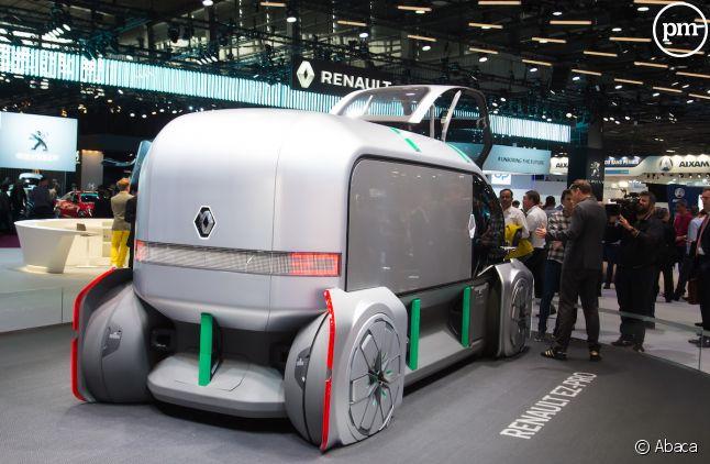 Le concept car Renault <span>EZ-PRO au Mondial de l'automobile 2018</span>
