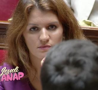 Marlène Schiappa parodiée dans 'Quotidien' par Etienne...