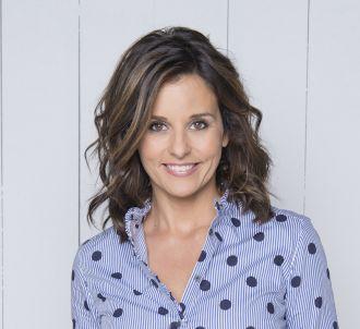 Faustine Bollaert, présentatrice de 'Ca commence...