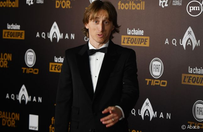 <span>Luka Modric, lauréat du Ballon d'Or 2018</span>