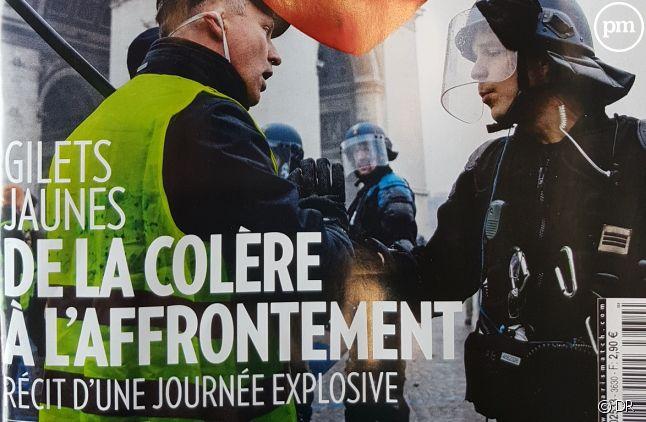 """La Une de """"Paris Match"""" du 6 décembre 2018"""