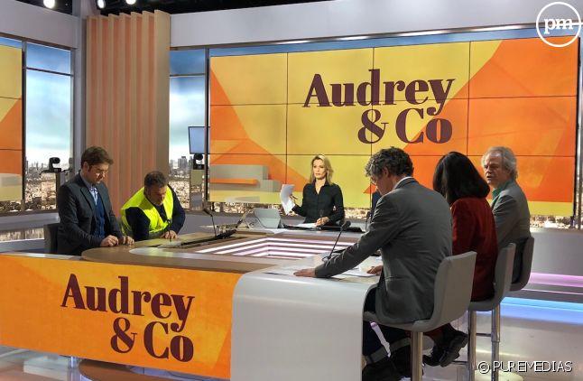 """9h55 : L'équipe d'""""Audrey&Co"""" à quelques minutes du direct"""