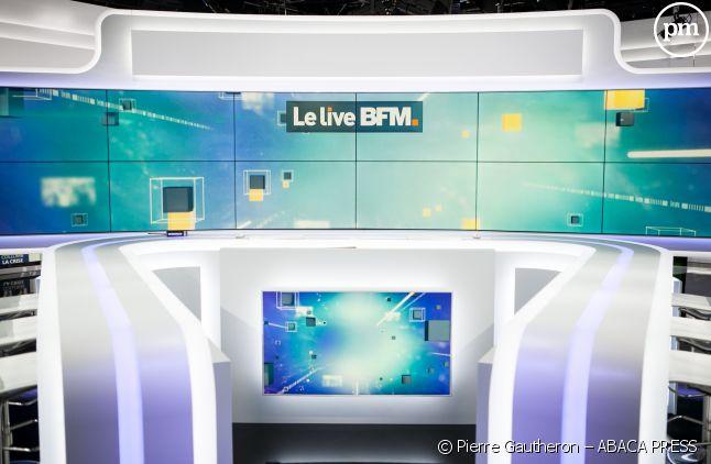 Le plateau de BFMTV