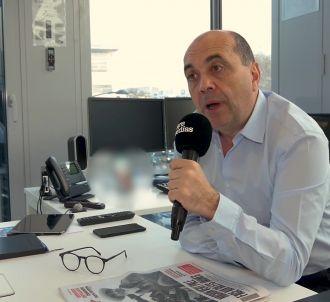Interview de Hervé Beroud, directeur général de BFMTV, au...