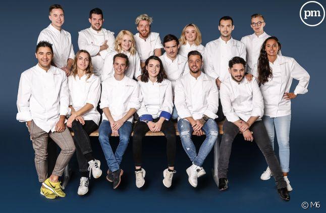 """Les 15 candidats de la saison 10 de """"Top Chef"""""""