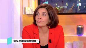 """""""C l'hebdo"""" : Céline Pigalle (BFMTV) estime que les politiques regardent trop sa chaîne"""