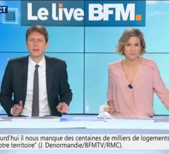 Lapsus d'une présentatrice de BFMTV.